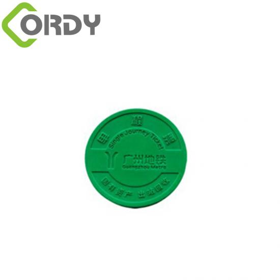 rfid subway token
