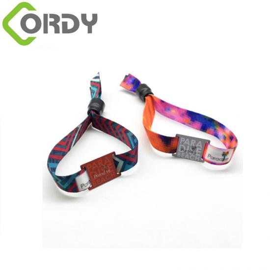 RFID woven wristbands